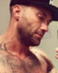 celebrity big brother's calum best teases massive bulge in topless snap