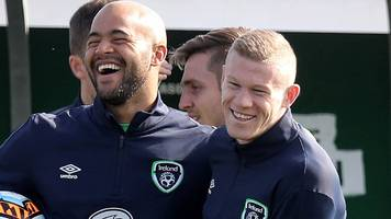 Republic of Ireland: James McClean, Darren Randolph and Colin Doyle drafted in for New Jersey game