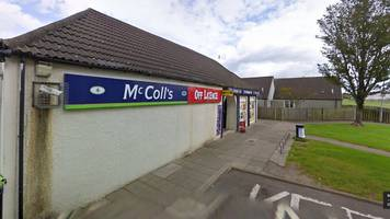 convenience store in kilwinning robbed for second time