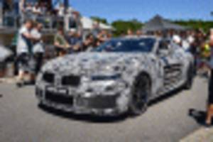 bmw m8 teased, will race at le mans