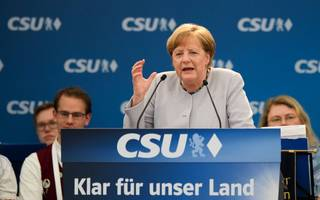 Angela Merkel says Europe can't rely on Donald Trump's US