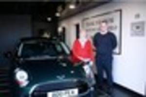 Derbyshire woman recovers nostalgic number plate from her old 60s...