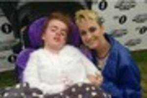 katy perry makes terminally ill josey's dreams come true at radio...