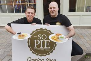 gloucester's new pie restaurant is open and those pies look so good