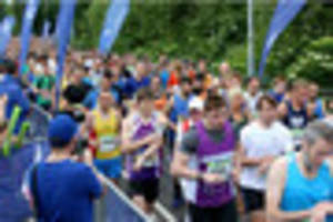 3,000 runners take part in nottingham 10k - can you spot...