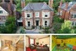 amazing victorian home on sale in grimsby has its own games room...