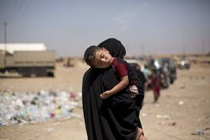 iraq mosul offensive: civilians 'in grave danger'