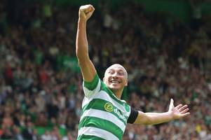 celtic charity match sees idols roll back the years as henrik's heroes triumph over lubo's legends