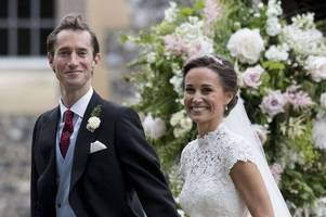 pippa middleton had raft of top secret measures in place to stop meghan markle 'upstaging' her at wedding