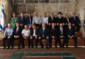 cabinet meeting in kotel tunnels marks 50 years of reunification