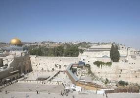 government approves mammoth projects to upgrade access to western wall