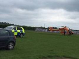 visitors are evacuated from hamerton zoo