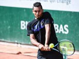nick kyrgios battling injuries ahead of french open