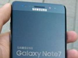 Samsung's Galaxy Note FE 7 pictured for the first time