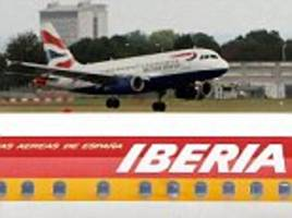 sell-off of ba's spanish shares after it fiasco