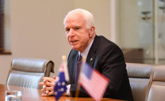 john mccain warns the world: democracy-destroying russia is bigger threat than terrible isis
