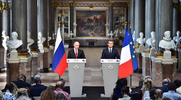 we have told each other everything - highlights from macron's first meeting with putin
