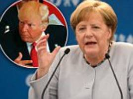 merkel doubles down on criticism of trump after g7 summit