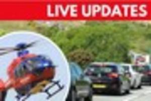 live: latest traffic, weather and breaking news for bank holiday...