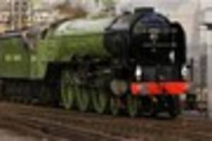tornado steam locomotive is coming to cornwall today - here's...