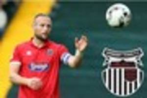 Ben Davies staying at Grimsby Town after signing new one-year...