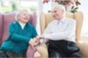 couple who barely spent a day apart in 50 years move together to...