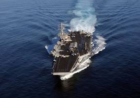 u.s. sends another aircraft carrier as warning to n.korea