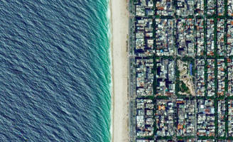 artist using satellite imagery to change the world from above