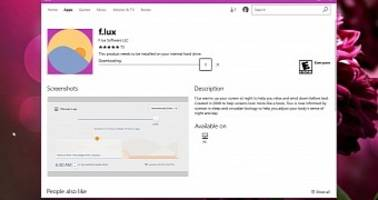 f.lux Launches in the Windows Store as Windows 10 Night Light Alternative