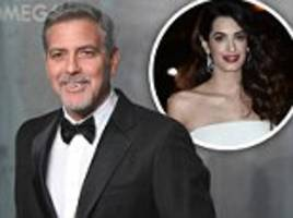 George Clooney on a tight leash before birth of his twins