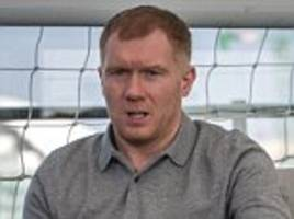 scholes to star in 24-hour match for manchester victims