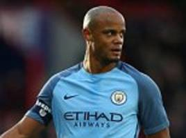vincent kompany in belgium squad after two year absence