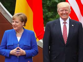 'very bad for the us. this will change': trump fires back at germany, merkel in tweet