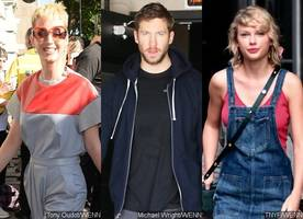 is katy perry romancing calvin harris to get back at taylor swift?