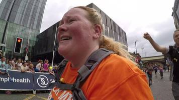great manchester run: what's it like to cross the finish line of your first 10k?