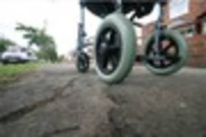 Wheelchair user left 'in agony' on bumpy Chanterlands Avenue in...