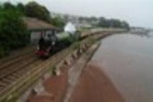 Tornado at Teignmouth is a storming success for rail fans