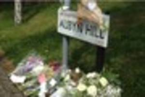 moving messages left at scene where mother was stabbed to death...