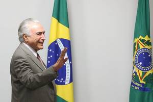 brazil: president temer urges electoral court to rule quickly on 2014 election campaign