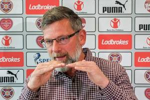 hearts chief craig levein says it is his recruitment and not ian cathro's coaching that has caused decline
