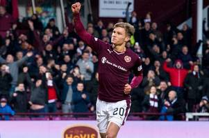 st mirren manager jack ross weighing up move for hearts forward gavin reilly