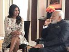 priyanka chopra accused of disrespecting india's pm