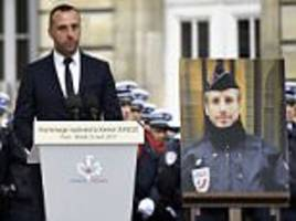 partner of paris cop shot by isis marris him posthumously