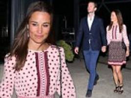 pippa middleton and james matthews dine on raw kangaroo