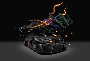 bmw art car reloaded: chinese multimedia artist cao fei takes the series into the 21st century by going digital