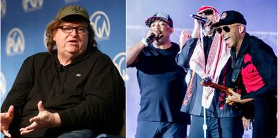 prophets of rage tease project with michael moore: watch