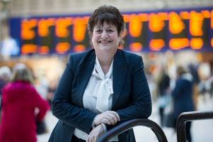 blantyre woman is up for top award from her scotrail employers