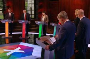 jeremy corbyn joins live tv debate snubbed by theresa may but labour leader fails to shine