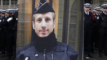 champs elysees attack: posthumous marriage for slain policeman