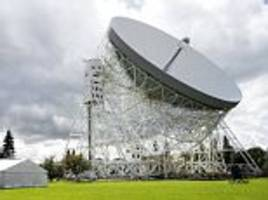 breakthrough listen and jodrell bank search for aliens